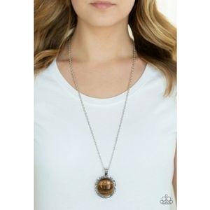 Stone Aura Necklace
